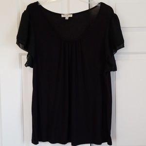 Susan Bristol Black Blouse Size 3X